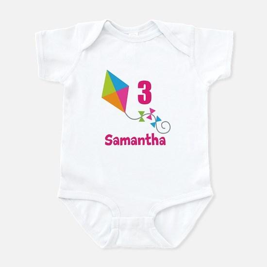 Personalized Birthday Kite Infant Bodysuit