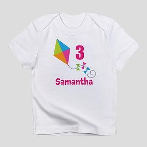 Personalized Birthday Kite Infant T-Shirt