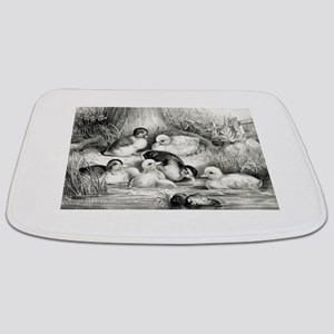 Jolly young ducks - 1866 Bathmat