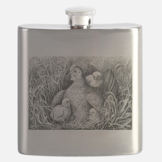 Mothers wing - 1866 Flask