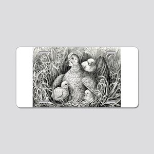 Mothers wing - 1866 Aluminum License Plate