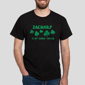 Zachary is my lucky charm Dark T-Shirt
