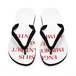 English games joke Flip Flops