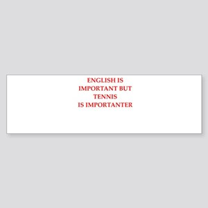 English games joke Bumper Sticker
