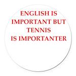 English games joke Round Car Magnet
