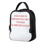 English games joke Neoprene Lunch Bag