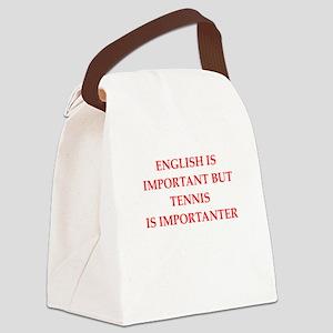English games joke Canvas Lunch Bag