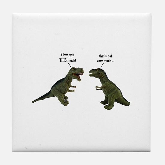 Tyrannosaurus Rex Tile Coaster