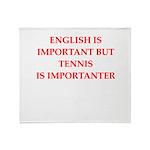 English games joke Throw Blanket