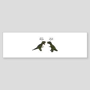 Tyrannosaurus Rex Sticker (Bumper)