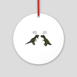 Tyrannosaurus Rex Ornament (Round)
