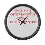 English games joke Large Wall Clock
