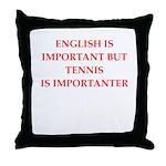 English games joke Throw Pillow
