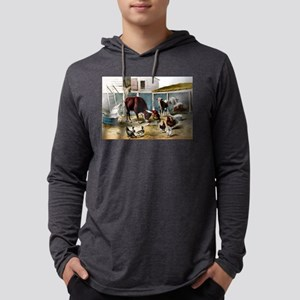 The champions of the barn - 1876 Mens Hooded Shirt