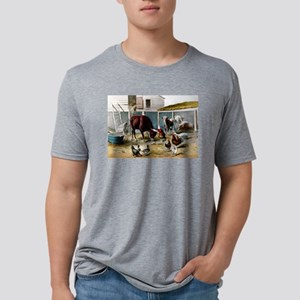 The champions of the barn - 1876 Mens Tri-blend T-
