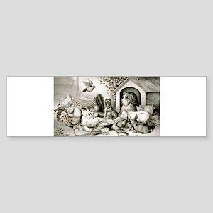 The happy family - 1874 Sticker (Bumper)