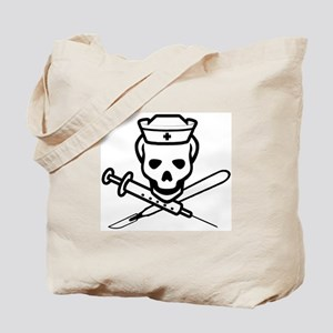 The Pirate Nurse Tote Bag