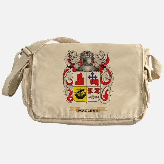 MacLean Coat of Arms - Family Crest Messenger Bag