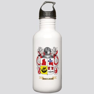 MacLean Coat of Arms - Family Crest Water Bottle