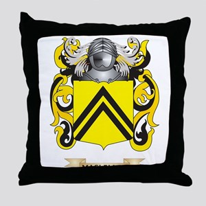 MacLellan Coat of Arms - Family Crest Throw Pillow