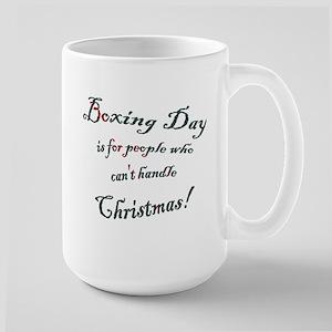 Boxing Day Large Mug
