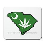 SC Medical Marijuana Movement Logo Mousepad