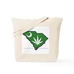 SC Medical Marijuana Movement Logo Tote Bag