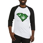SC Medical Marijuana Movement Logo Baseball Jersey
