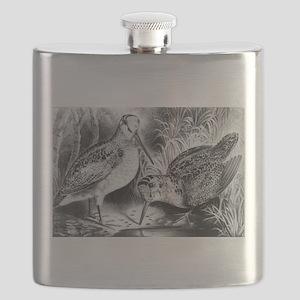 Woodcock - 1871 Flask
