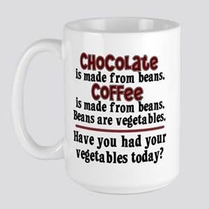 Chocolate & Coffee Large Mug
