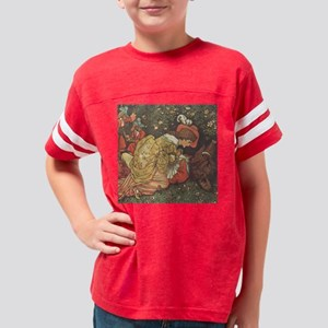 crane_beautybeast_tile Youth Football Shirt