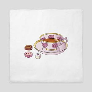 Tea and Petit Fours Queen Duvet