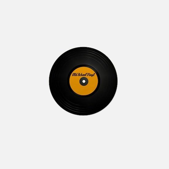 Vinyl Record Mini Button