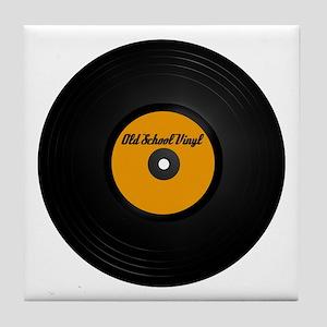 Vinyl Record Tile Coaster