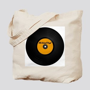 Old School Vinyl Record Tote Bag