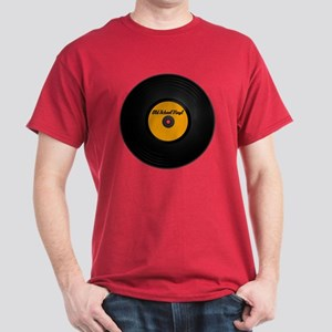Vinyl Record Dark T-Shirt