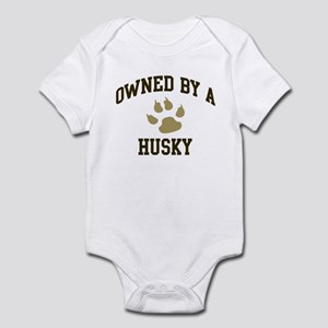 Husky: Owned Infant Bodysuit