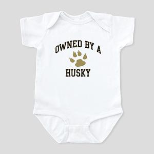 Husky: Owned Infant Bodysuit