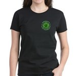 Mondo de Esperanto malhela t-ĉemizo (virina)