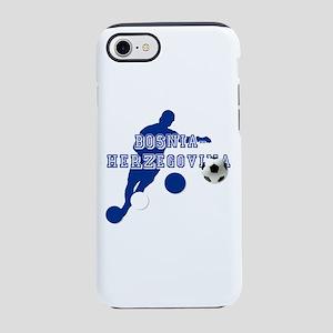 Bosnia Football Player iPhone 7 Tough Case