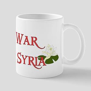 No War With Syria Mug