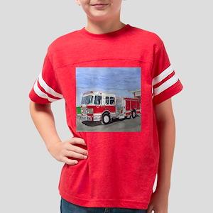Fire Truck Youth Football Shirt