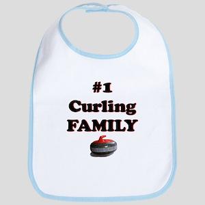 #1 Curling Family Bib
