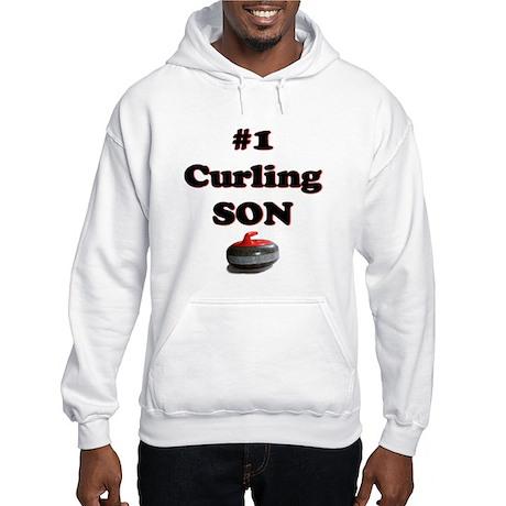 #1 Curling Son Hooded Sweatshirt