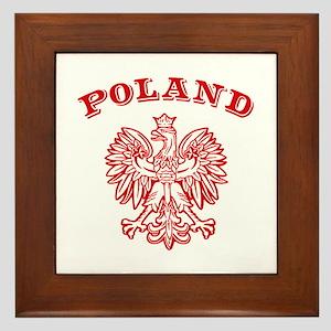 Poland Framed Tile