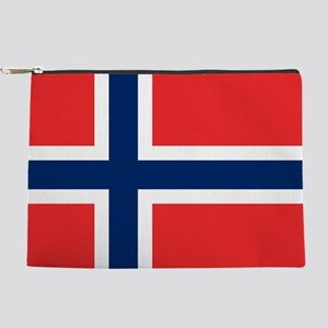 Flag of Norway Makeup Pouch