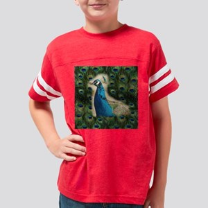 peacock ornament Youth Football Shirt