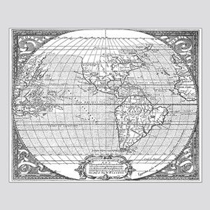 Antique world map posters cafepress world map 1587 posters gumiabroncs Images