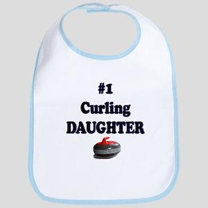 #1 Curling Daughter Bib