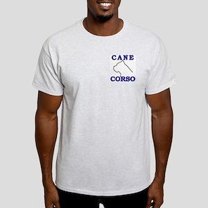 Cane Corso Logo Blue Light T-Shirt